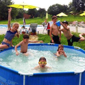Дитячий басейн. База Комарово